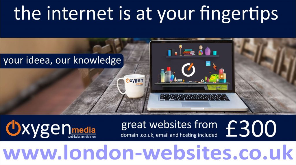 Affordable websites and web design in London